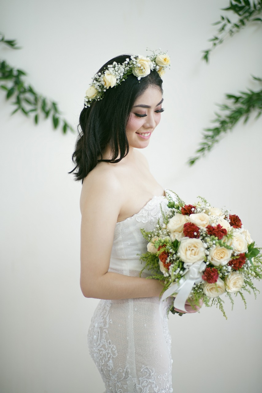 Baju Pengantin Modern Elina Wang Bridal Wedding Gown 10