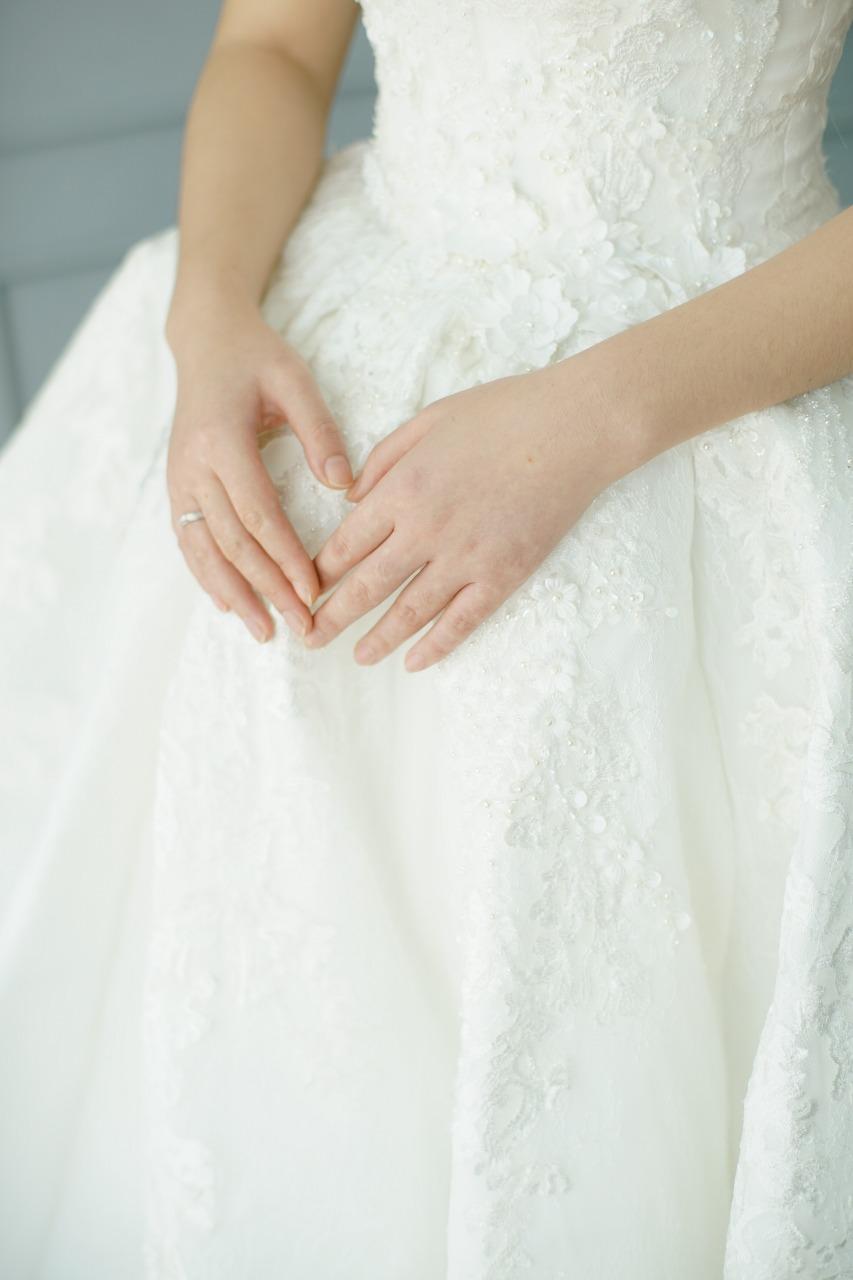 Baju Pengantin Modern Elina Wang Bridal Wedding Gown 4