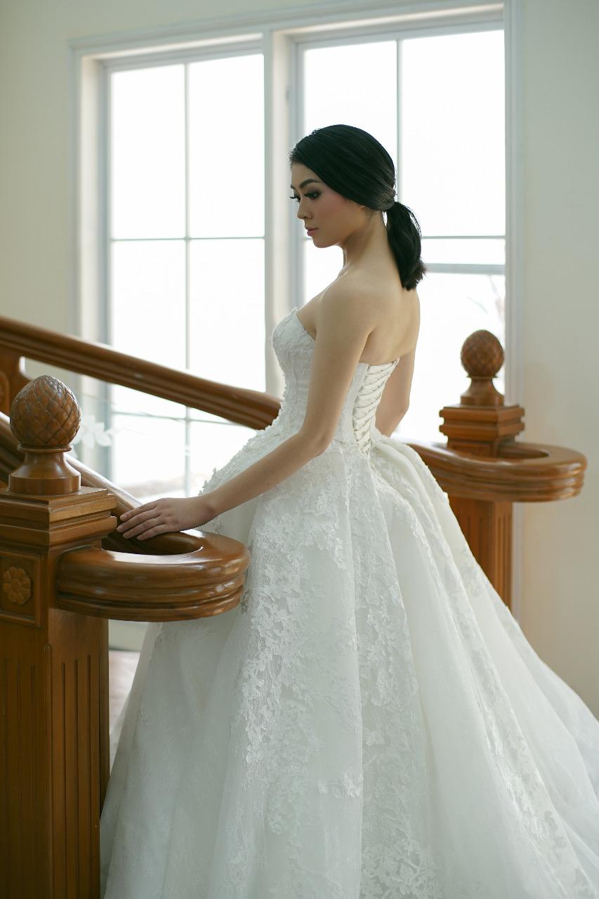Baju Pengantin Modern Elina Wang Bridal Wedding Gown 6