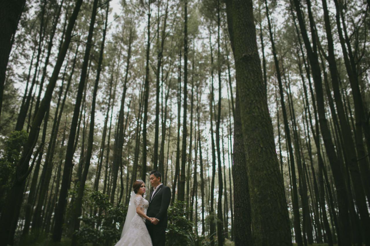 Foto Prewedding Gunung Pancar 1