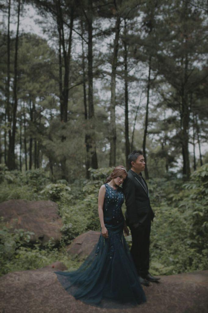 Foto Prewedding Gunung Pancar Januari 2018 11 Elina Wang Bridal