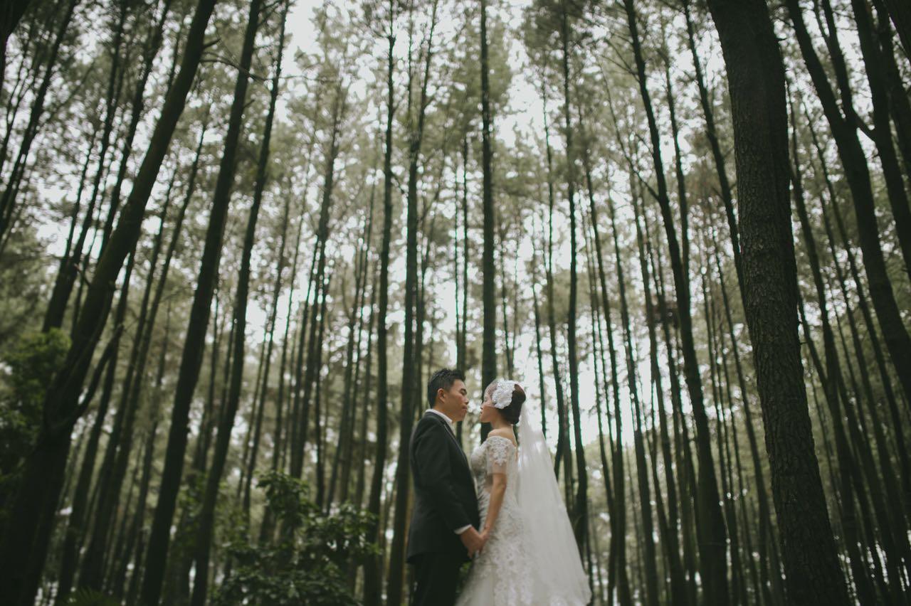 Foto Prewedding Gunung Pancar 2