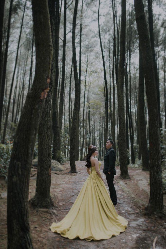 Foto Prewedding Gunung Pancar Januari 2018 4 Elina Wang Bridal