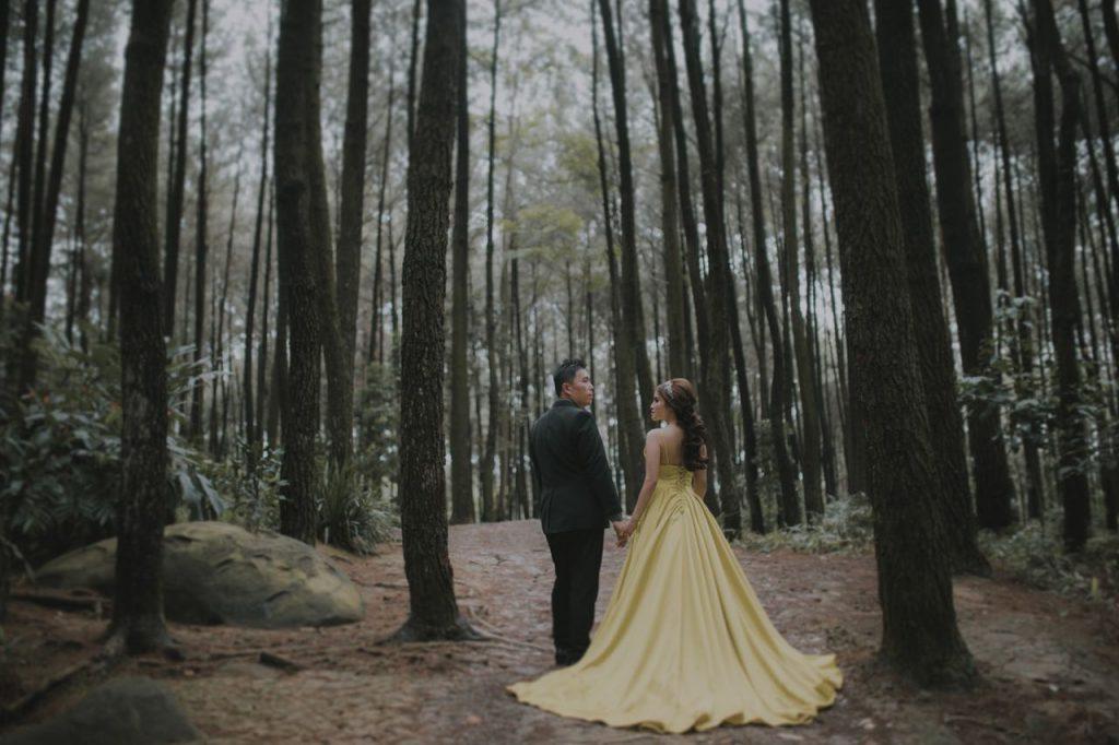 Foto Prewedding Gunung Pancar Januari 2018 5 Elina Wang Bridal