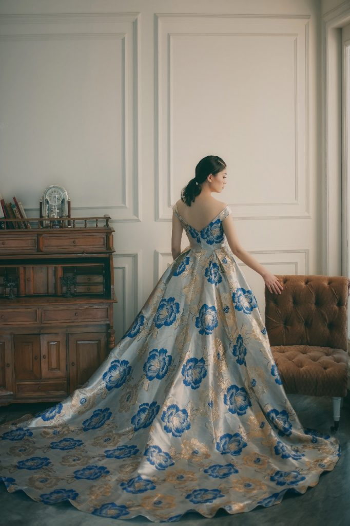 Gaun Prewedding Modern Elina Wang Bridal Prewedding Gown 3 Elina